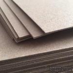 Лист переплетного картона, цвет серый,  толщина 2 мм, 1 шт., 30х30 см - ScrapUA.com