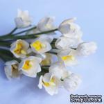 Ландыш, цвет белый, 1,2 см, 5 шт. - ScrapUA.com