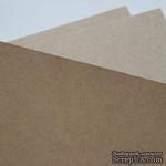 Крафт-картон, цвет: крафт,  плотность 400г/м2, 1 шт. - ScrapUA.com