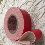 Скотч двухсторонний объемный на пенной основе, 19мм х 2м, 1шт. - ScrapUA.com