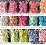 Плоские цветочки - 5 загостренных лепестков, диаметр 13-15 мм, цвет на выбор, 50 шт. - ScrapUA.com