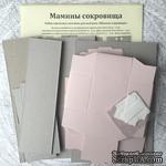 """Набор для декорирования """"Мамины сокровища"""", 6 коробочек, цвет на выбор (розовый или голубой), арт. 15001 - ScrapUA.com"""