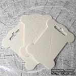 Шпулька белая, пивной картон, 1 шт. 10,8х8 см - ScrapUA.com