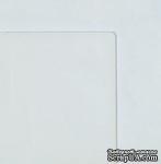 Лист прозрачного пластика, толщина 1мм, размер: 30х30см, углы слегка закруглены, 1 шт. - ScrapUA.com
