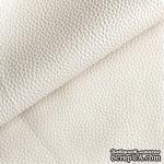 Экокожа, цвет слоновой кости, толщина 0.6 мм, 50Х70 см - ScrapUA.com