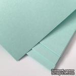 Дизайнерский картон Brilliant Star, 30х30, светлый аквамарин, 240 г/м2, UPK-10212-24006, 1 шт. - ScrapUA.com