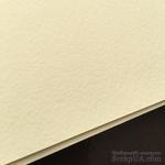 Дизайнерский картон с легкой фактурой Tintoretto crema, размер: 30х30 см, цвет: слоновая кость, плотность: 250 г/м2, 1 шт - ScrapUA.com