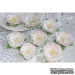 Набор цветов TM Iris - Dessert Нежная роза, цвет светло-розовый, 35-45 мм, 8 шт - ScrapUA.com