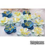 Набор цветов TM Iris - Denise голубой микс, 12 шт - ScrapUA.com