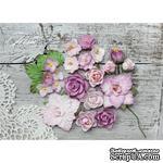 Набор цветов TM Iris - Lady Rosemary Роза+сирень, 20 шт - ScrapUA.com