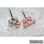 Набор цветов TM Iris - Viva Rosita розово-персиковые, 14 шт - ScrapUA.com