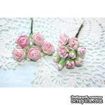Набор цветов TM Iris - Viva Rosita светло-розовые, 14 шт - ScrapUA.com