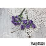 Набор цветов TM Iris - Viva Rosita темно-фиолетовые, 14 шт - ScrapUA.com