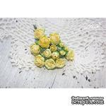 Набор цветов TM Iris - Viva Rosita желтые, 14 шт - ScrapUA.com