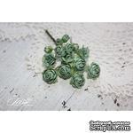 Набор цветов TM Iris - Viva Rosita винтажный зеленый, 14 шт - ScrapUA.com