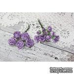 Набор цветов TM Iris - Viva Rosita фиолетовые, 14 шт - ScrapUA.com