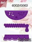 Набор лезвий Joy! Crafts Cutting & Embossing Dies - Pocket/RuffleFlap/Zipper - ScrapUA.com