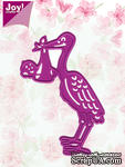 Лезвие Joy! Crafts Cutting & Embossing Dies - Stork & Baby - Аист и младенец - ScrapUA.com