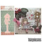 Лезвие Joy! Craft Dies - Floral Flourishes - Tall Bird House - ScrapUA.com