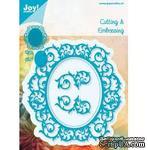 Лезвие Joy! Crafts Cutting & Embossing Die - Oval 4 pcs - ScrapUA.com
