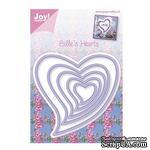 Набор лезвий Joy Crafts - Joy! Craft Dies - Billie's Hearts - ScrapUA.com