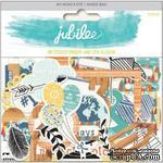 Высечки из кардстока My Mind's Eye - Jubilee Tangerine - Awesome - ScrapUA.com
