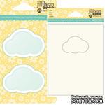 ЦЕНА СНИЖЕНА! Набор для шейкера JBS - Cloud - Облако - окошко-заготовка, открытка, конверт - 1 штука - ScrapUA.com