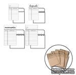 Набор конвертов с библиотечными карточками для журналинга от Maya Road - Library Cards w/Envelopes, 4 шт. - ScrapUA.com