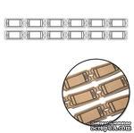 Набор крафт-билетиков от Maya Road - Mini Ticket Strips, 36 шт. (3 полосочки по 12 шт.) - ScrapUA.com