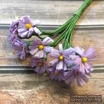 Хризантемы, цветочек 15 мм, стебелек 10 см, 12 шт. - ScrapUA.com