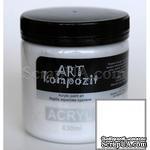 Краска акриловая ART Kompozit 018 белила титановые, 430 мл - ScrapUA.com