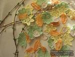 """Уютный декор от LESHCHENKO - Вязаные ажурные листочки в наборе """"Autumn/Осенний"""", 4 шт. - ScrapUA.com"""