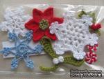 Уютный декор от LESHCHENKO - Вязаный набор «Новогодний», 8 шт. - ScrapUA.com