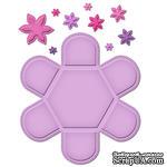Лезвия от Spellbinders - Hexagon Petal Envelope - Нож для заготовки для конверта - ScrapUA.com