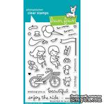 Штампы + ножи от Lawn Fawn - Bicycle Built For You - ScrapUA.com