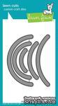 Ножи для вырубки от Lawn Fawn - Slide on Over Semicircles - ScrapUA.com