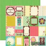 Лист скрапбумаги от Echo Park - Life is Good - Journaling Cards, 30x30 - ScrapUA.com