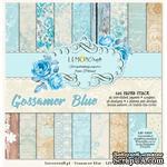 Набор скрапбумаги LemonCraft - Gossamer Blue, 15х15 см - ScrapUA.com