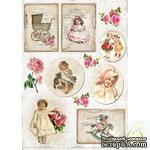 Лист с картинками LemonCraft - Vintage Time 003 - ScrapUA.com