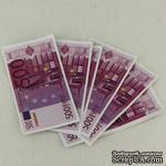 Деньги миниатюрные сувенирные - евро, 5,8*3 см, 10 шт. - ScrapUA.com