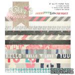 Набор бумаги от Glitz Design - Love You Madly - 15х15 см - ScrapUA.com
