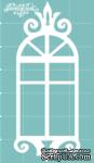Чипборд от Вензелик - Окно 03n, размер: 28x69 мм - ScrapUA.com