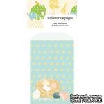 Конвертик Webster's Pages - Bulk Mini Bag Nest, размер 10х7 см, 1 шт. - ScrapUA.com