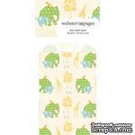 Конвертик Webster's Pages - Bulk Mini Bag Small Elephants, размер 10х7 см, 1 шт. - ScrapUA.com