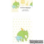 Конвертик Webster's Pages - Bulk Mini Bag Large Elephants, размер 10х7 см, 1 шт. - ScrapUA.com