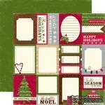 Лист двусторонней бумаги от Echo Park-Tis the Season Card - ScrapUA.com