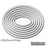 Лезвие My Favorite Things - Die-namics Pierced Oval STAX, 7 шт. - ScrapUA.com