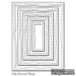 Лезвие My Favorite Things - Die-namics Wonky Stitched Rectangle STAX, 5 шт. - ScrapUA.com