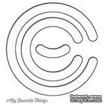 Лезвие нож My Favorite Things - Circle Spinner Channels Die-namics - ScrapUA.com