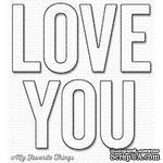Лезвие My Favorite Things - Die-namics Love You - ScrapUA.com